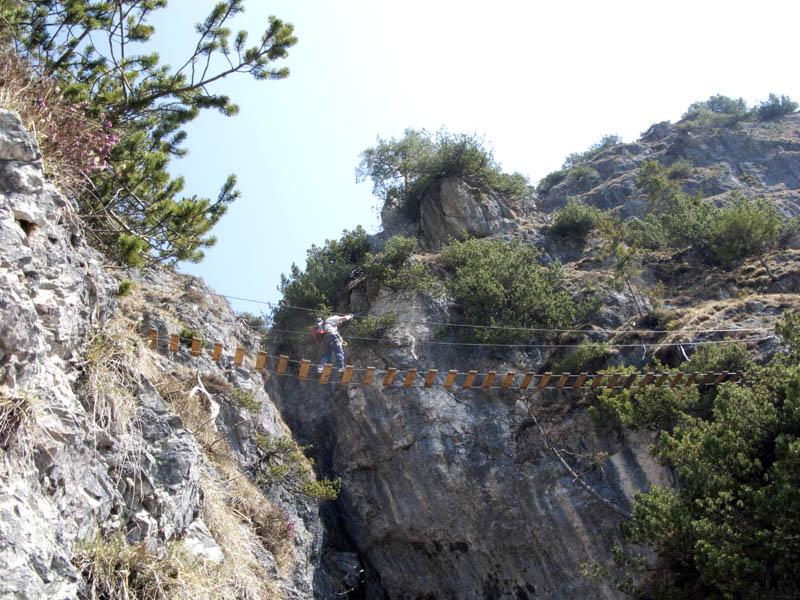 Klettersteig Königssee : Auf den isidor klettersteig am grünstein berg