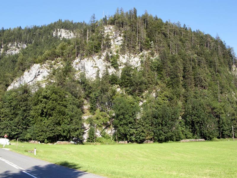 Klettersteig Weiße Gams : Weisse gams klettersteig d hochkranz m berchtesgadener