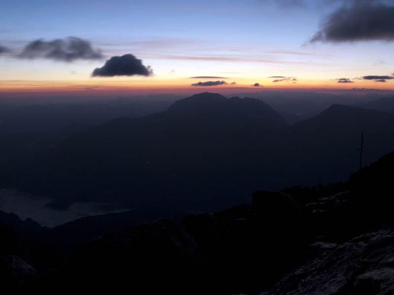 Klettersteigset Watzmann : Watzmann Überschreitung berchtesgadener alpen