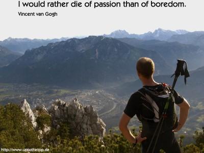 die of passion