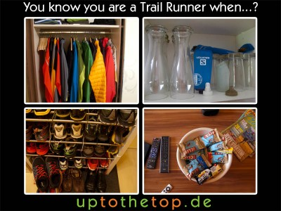 you know you are a trail runner when